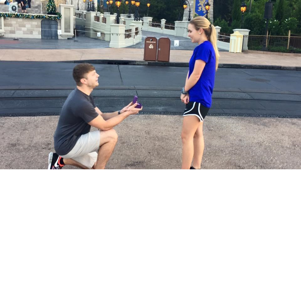 Kyle Proposing to Hayley