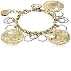 1AR Italian Teo-Toned Bracelet