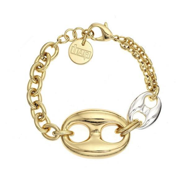 1AR Italian 18K gold-plated Gucci style bracelet