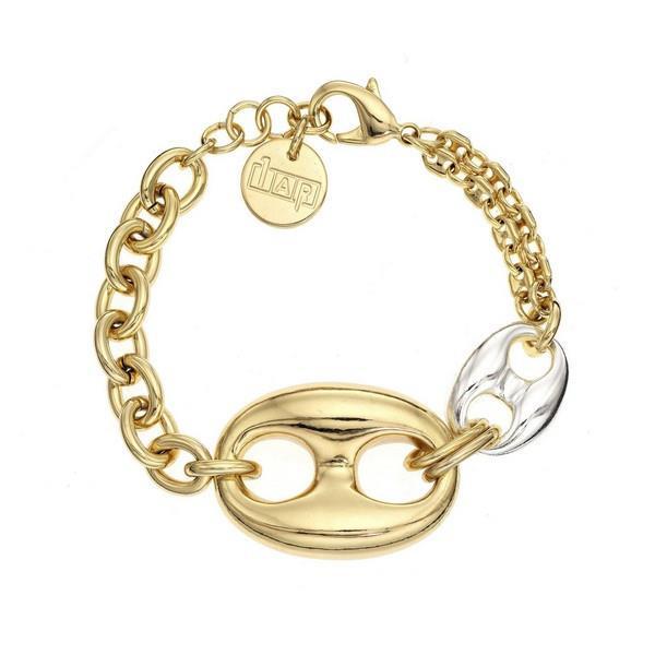 1AR Italian 18K gold-plated Gucci style bracelet
