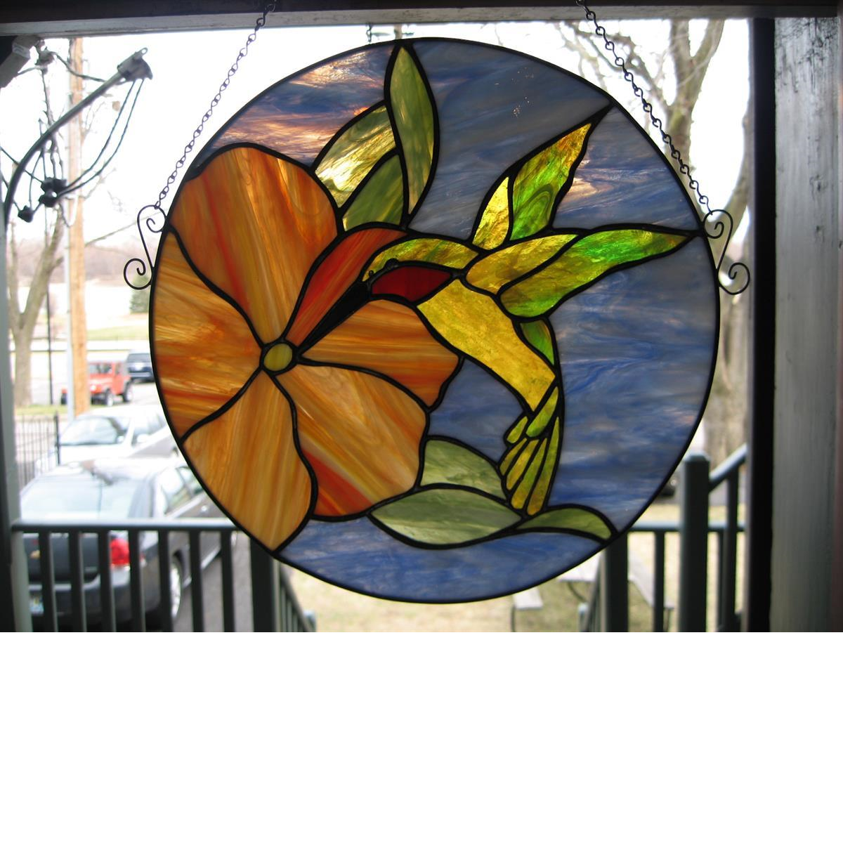 Beginning Stained Glass class example