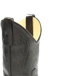 Black Western Boot