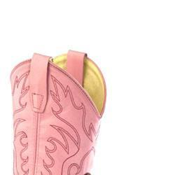 Pink & Brown Cowgirl Boot
