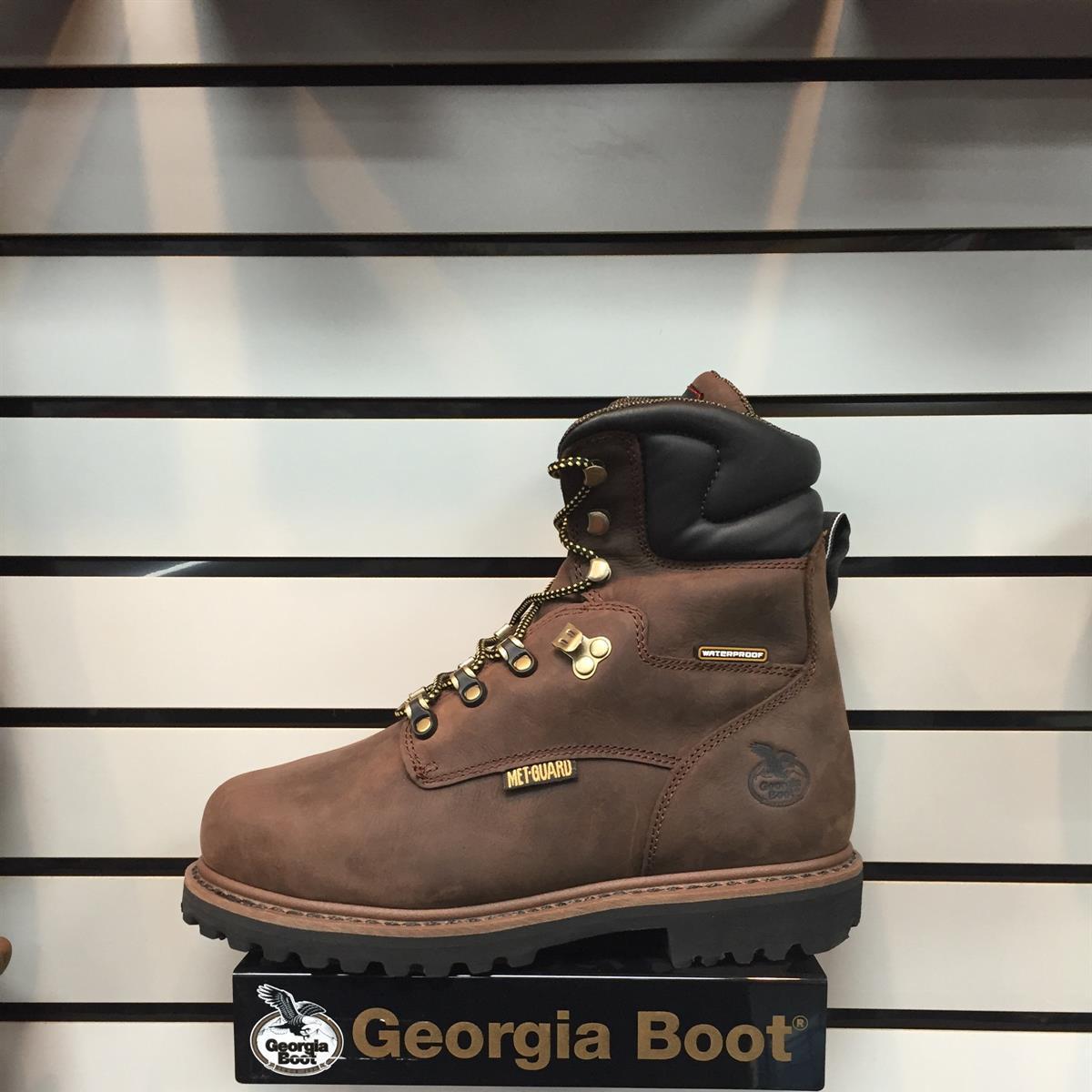 """Georgia G00028 Internal Metatarsal 8"""" Waterproof"""