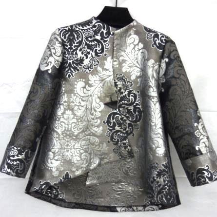 Silver Brocade Jacket