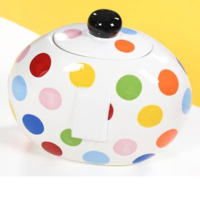 Multi Dot Happy Everything Cookie Jar