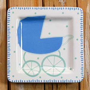 Baby Plate Boy