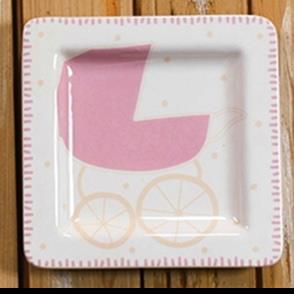 Baby Plate Girl
