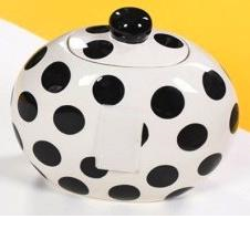 Black Dot Happy Everything Cookie Jar
