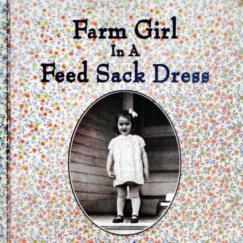 FARM GIRL IN A FEED SACK DRESS