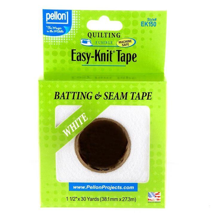 Pellon Easy Knit Batting Tape EK150