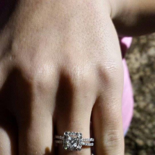 Kelli's Engagement Ring