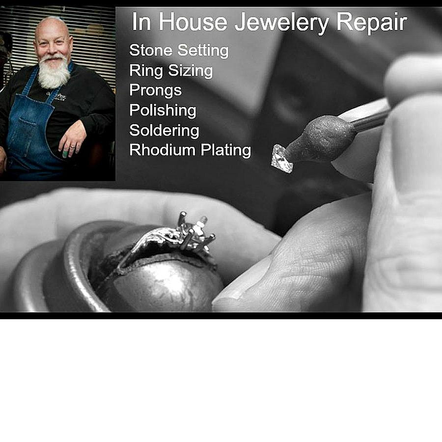 Jewelry Repair, custom jewelry, sizing