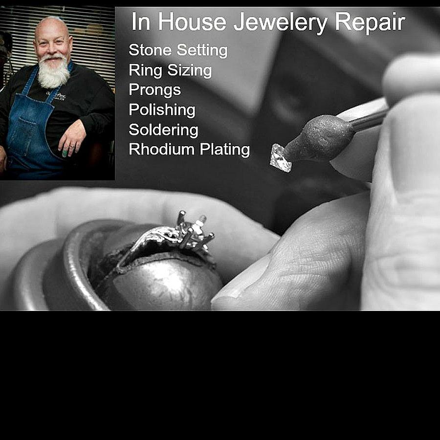 Jewelry Repair, custom jewelry, sizing