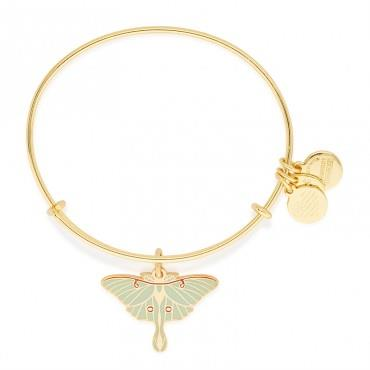 Luna Moth Charm Bangle Faith • Fulfillment • Vulnerability
