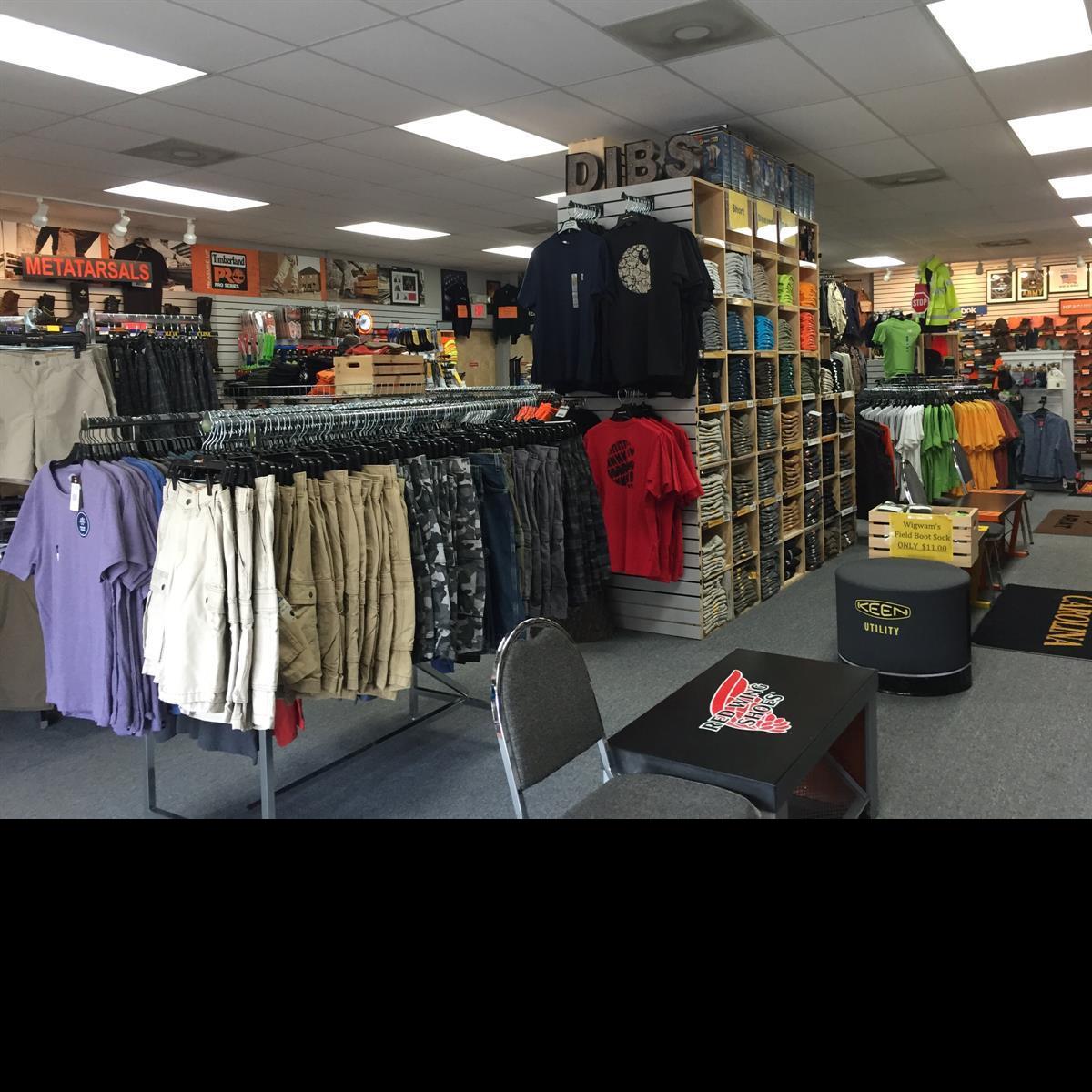 Carhartt Dickies Clothing Selection