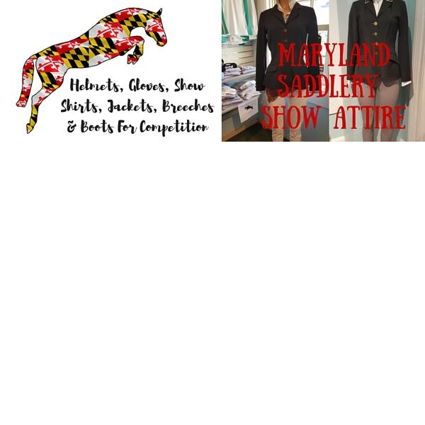 Maryland Saddlery Show Clothes, Competition Attire
