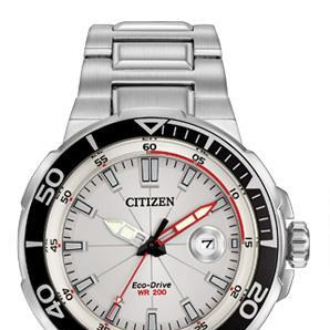 Endeavor_citizen_watch_white_red_face
