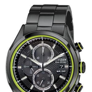 HTM_citizen_watch_black_green_chronograph