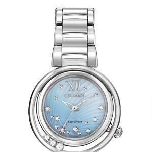 Citizen_L_sunrise_watch_diamond_mother_of_pearl