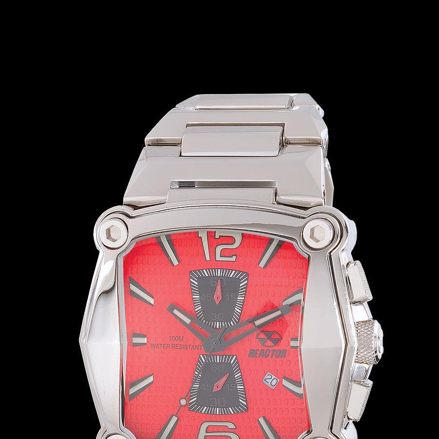 Reactor_nucleus_chronograph_red_face_dial_watch