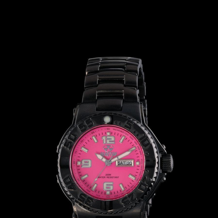 reactor_Criticala_mass_black_pink_watch