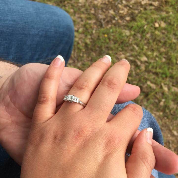 Grace's Engagement Ring