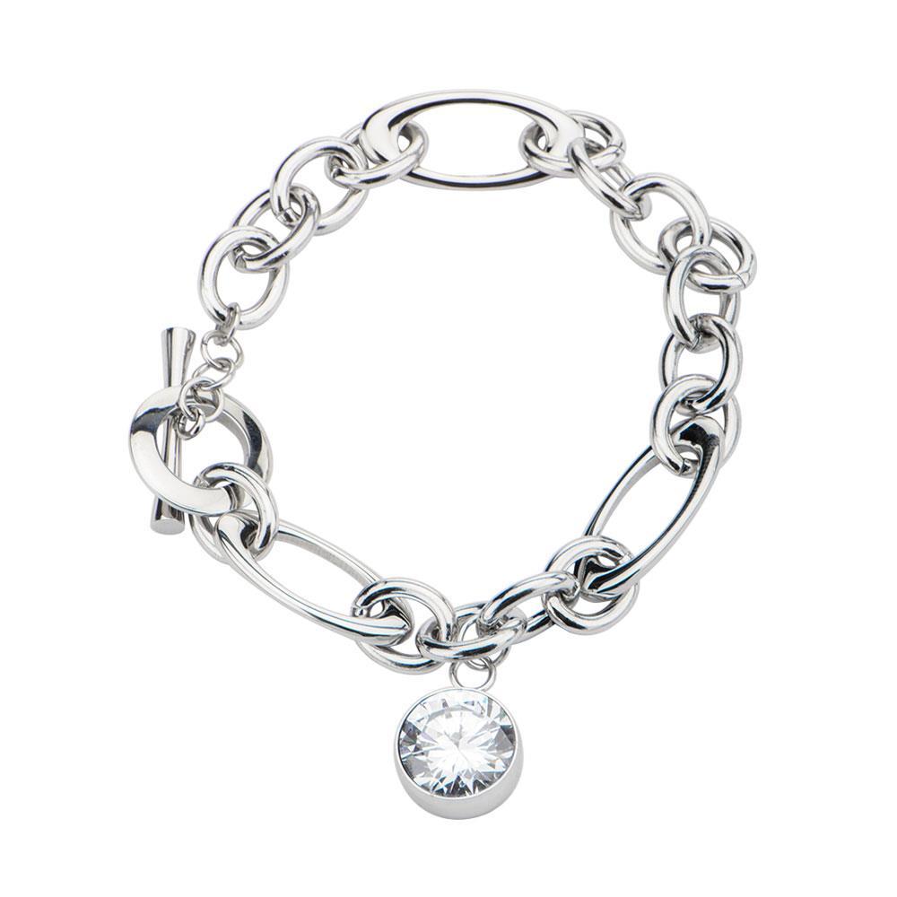 inox_Stainless_steel_bracelet_toggle_CZ_charm