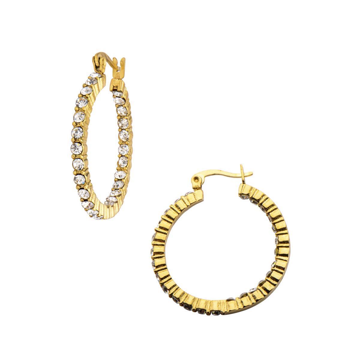 inox_stainlees_steel_crystal_yellow_gold_hoops