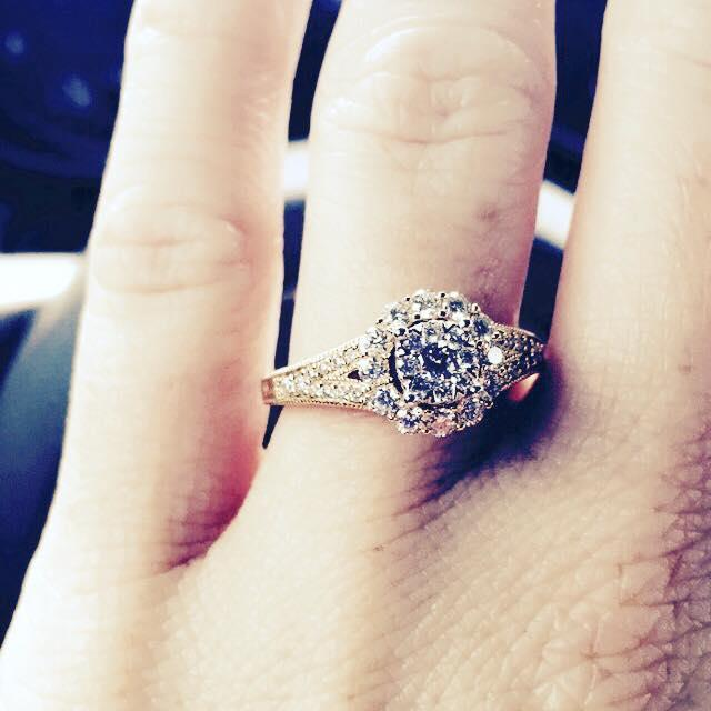 Stephanie's Engagement Ring