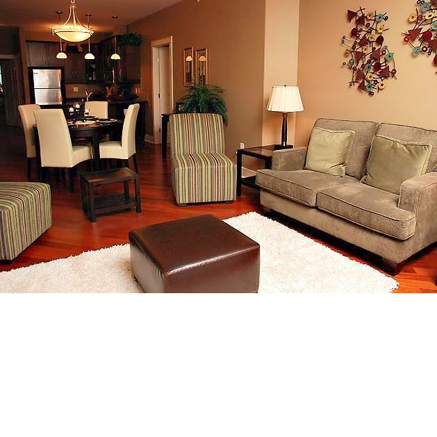 Kootenai Moon Furniture Living Room Dining Room Staging