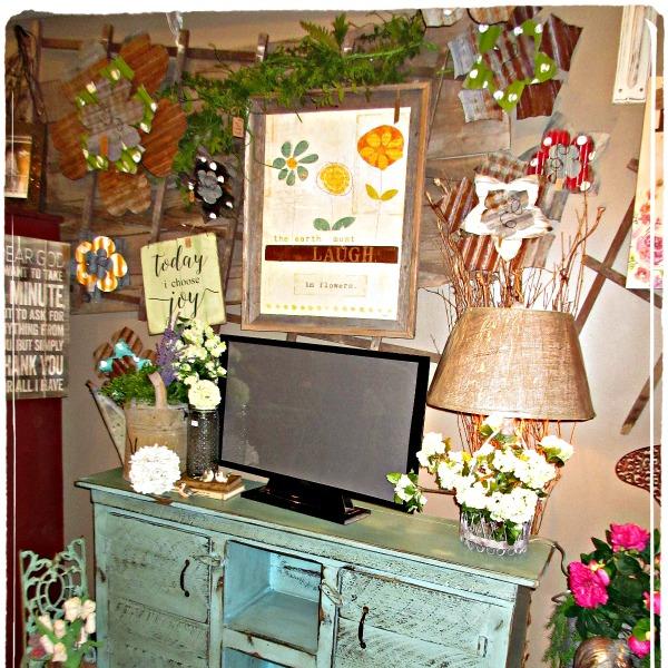 Handmade television console... buffet...
