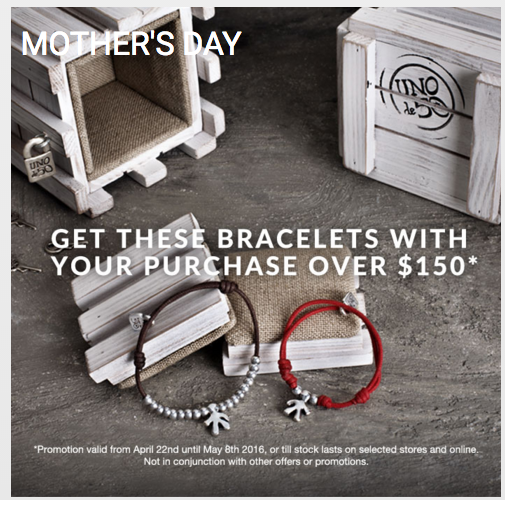 Uno de 50 Mother's Day gift free at Roberta Weissburg Leathers