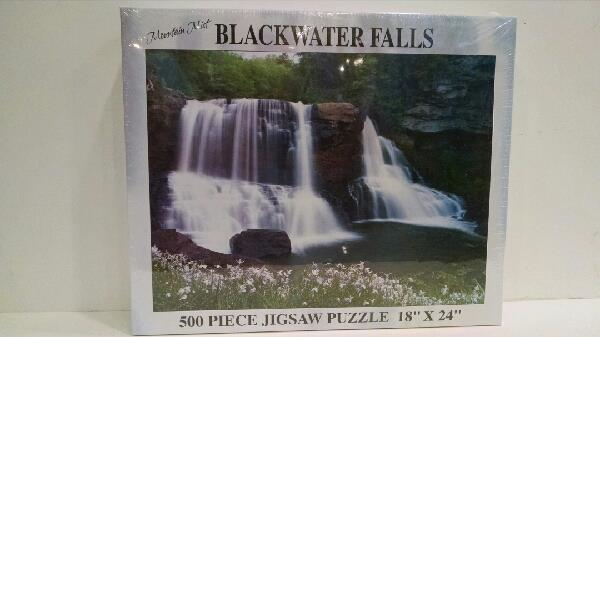 Blackwater Falls Jigsaw Puzzle