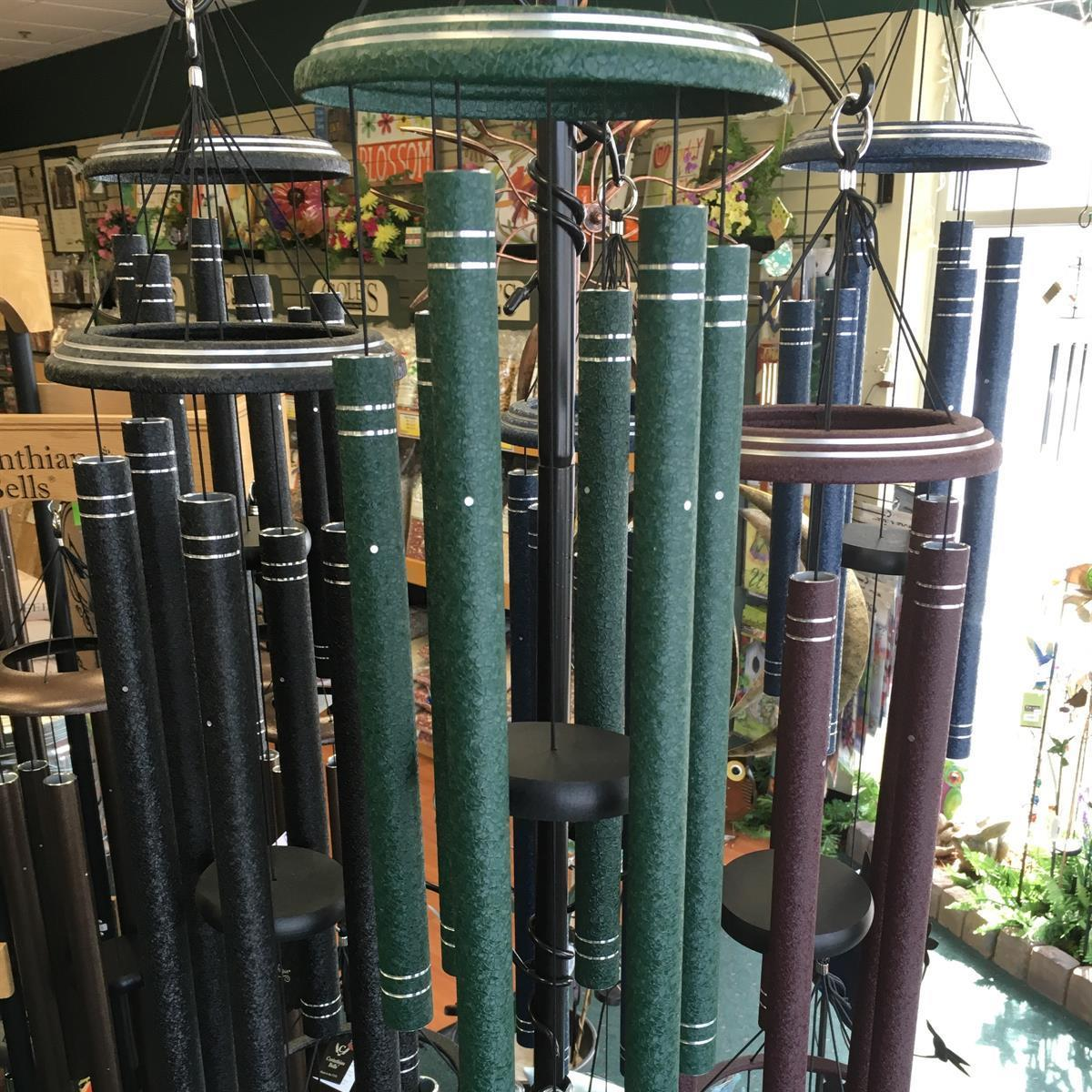 Windchimes available at Bird Watcher Supply Company