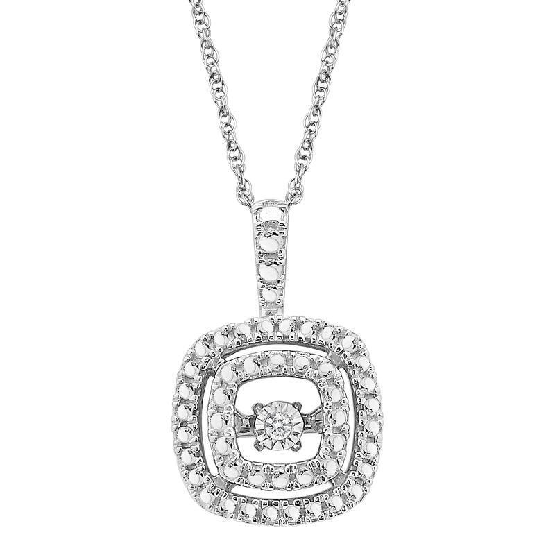 Heartbeat_sterling_silver_pendant_necklace_diamond
