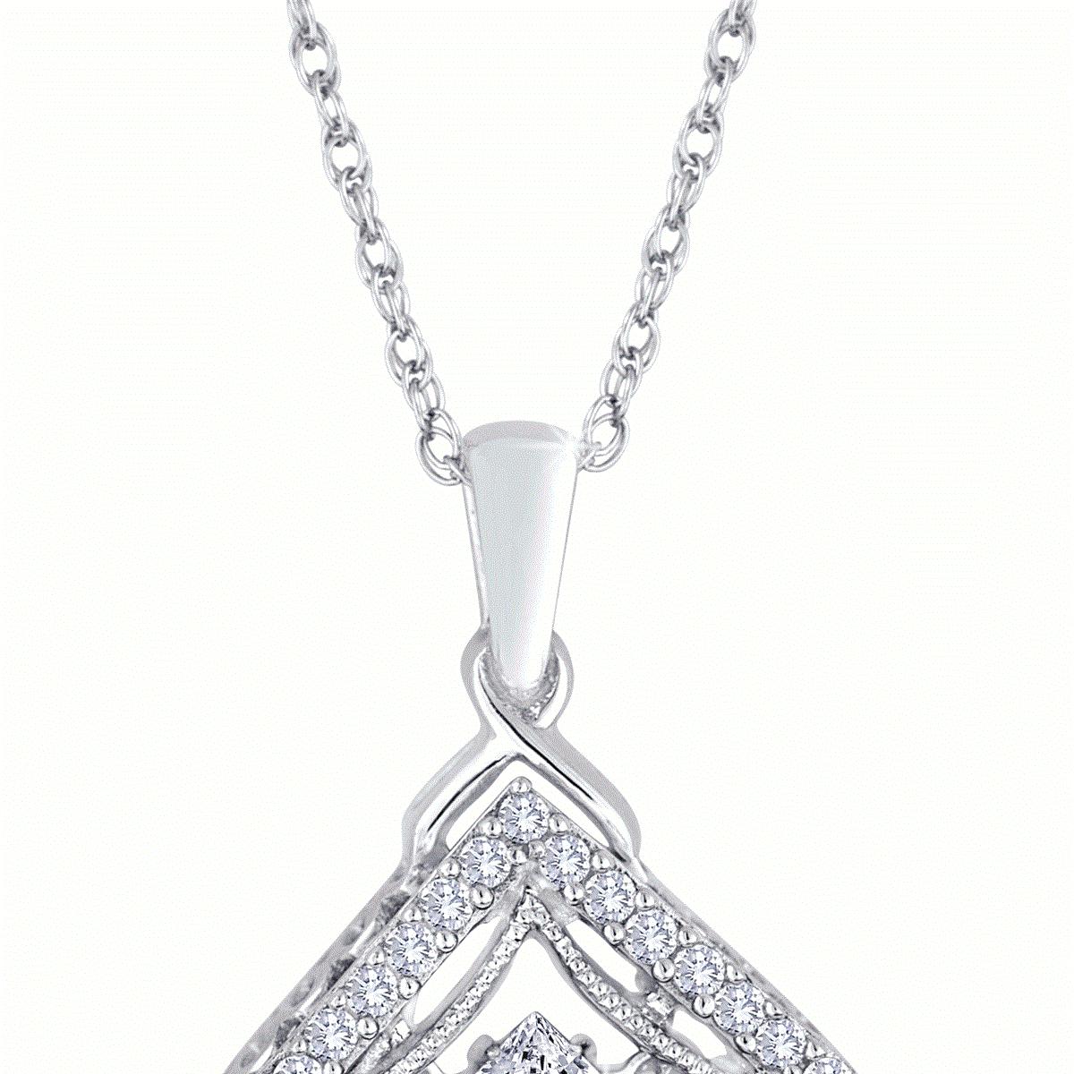 Heartbeat_princess_cut_diamond_halo_square_necklace_white_gold