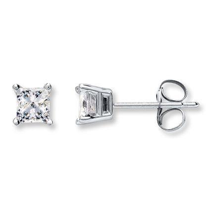 princess_cut_diamond_solitaire_stud_earrings_white_gold