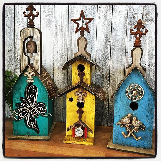 Bird houses and other bird decor items available at Bird Watcher Supply Company