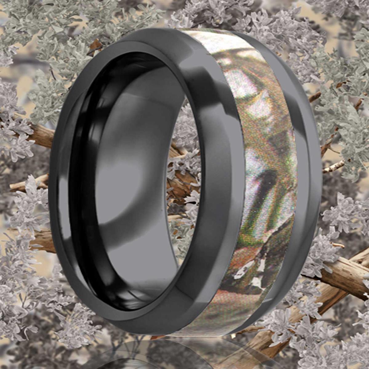 alternative metal, camo, camoflage, men's wedding ring, kluh jewelers