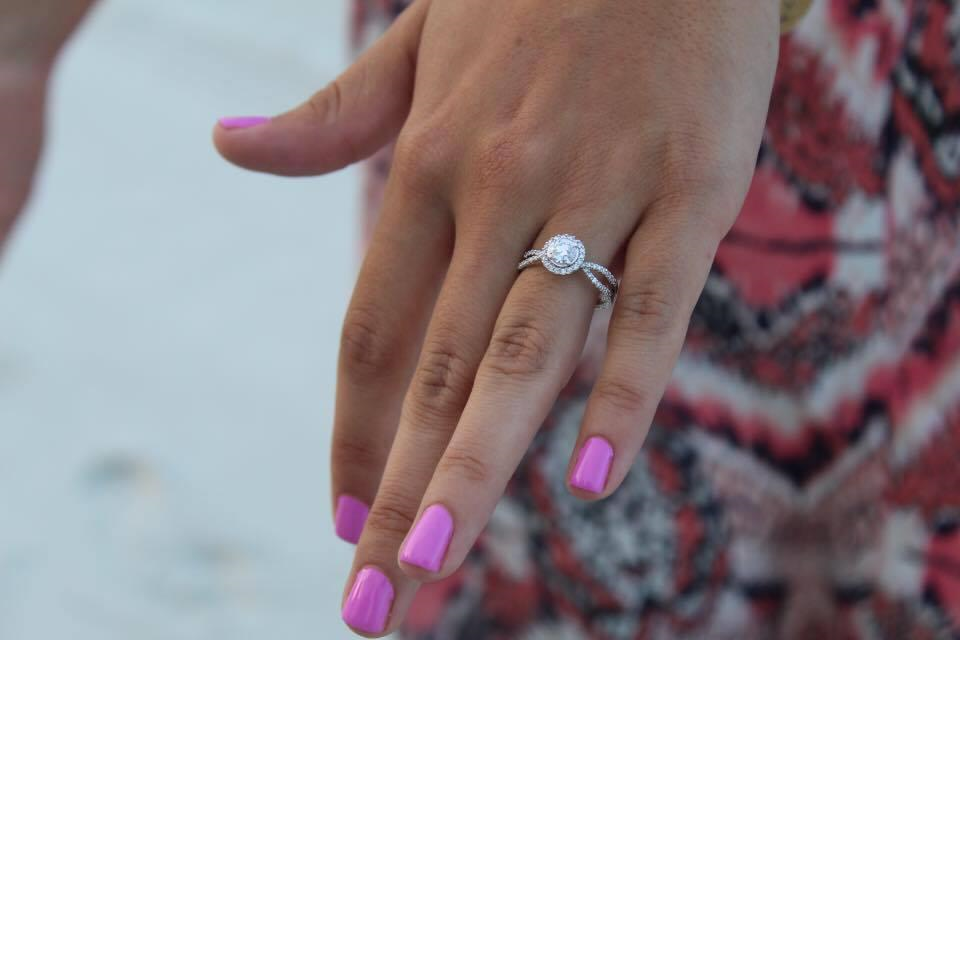 Jeanie's Engagement Ring