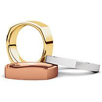 square_comfort_fit_gold_wedding_band