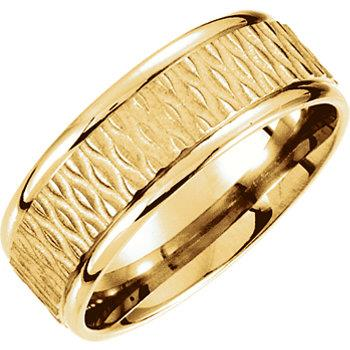 yellow_gold_ridged_wedding_band_with_pattern