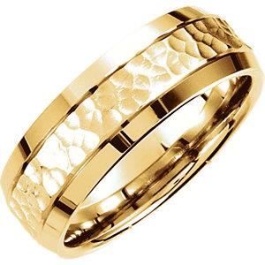 Men's wedding bands, gold, kluh jewelers