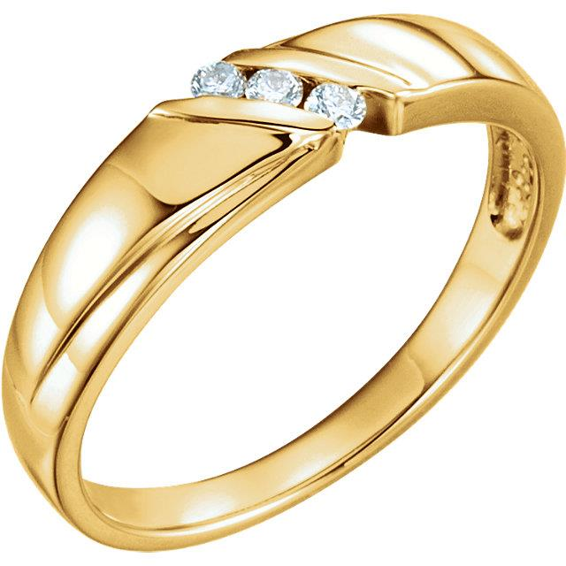 Men's wedding bands, gold and diamond, kluh jewelers