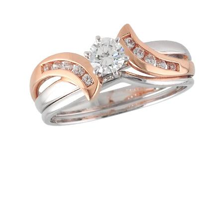white_rose_gold_wedding_set_diamond
