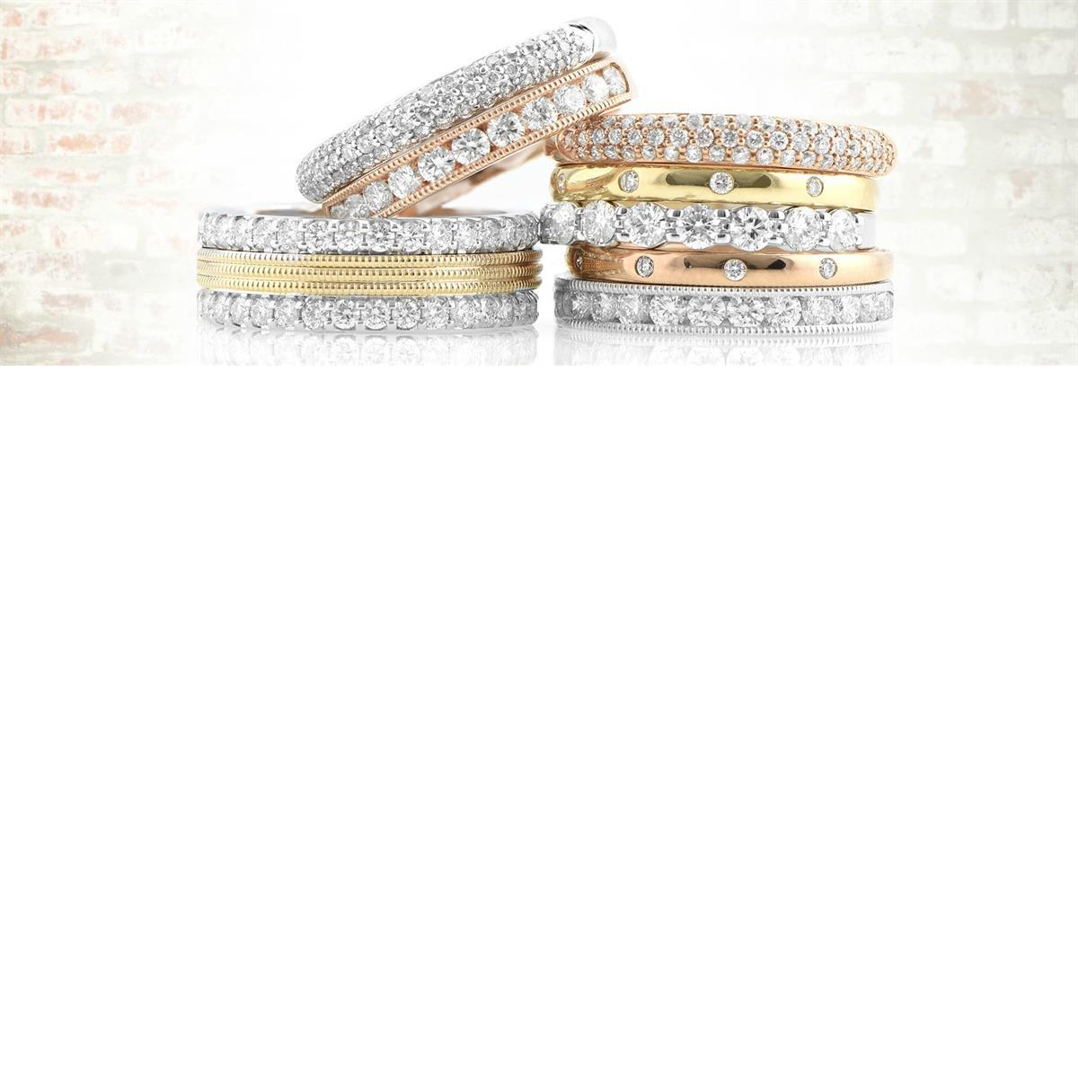 Stackable_anniversary_bands_kluh_jewelers