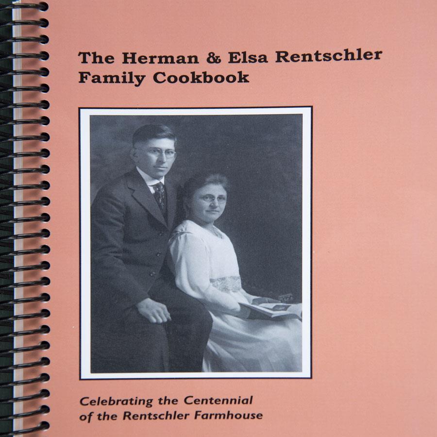 HERMAN & ELSA RENTSCHLER FAMILY COOKBOOK