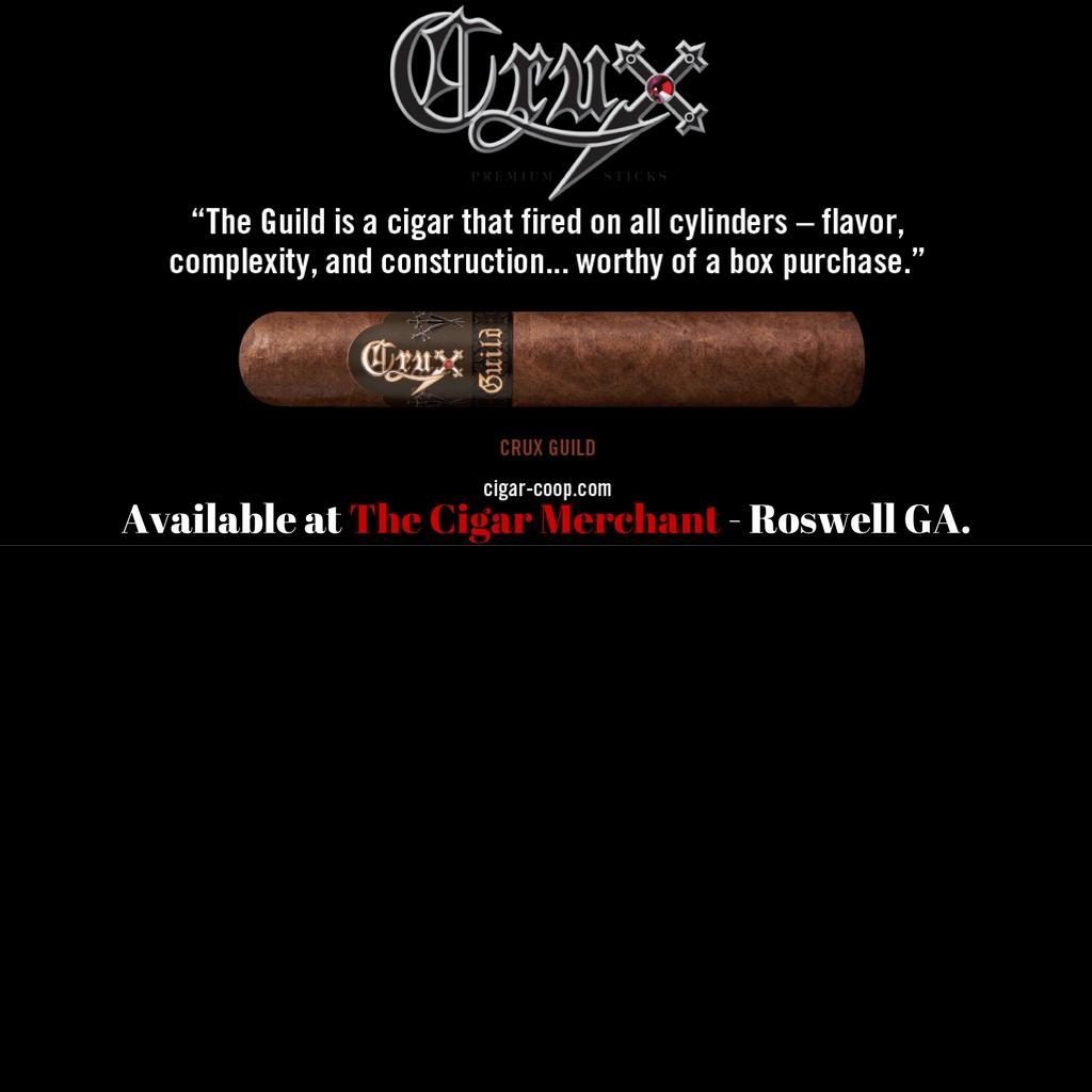 Crux Guild Cigars