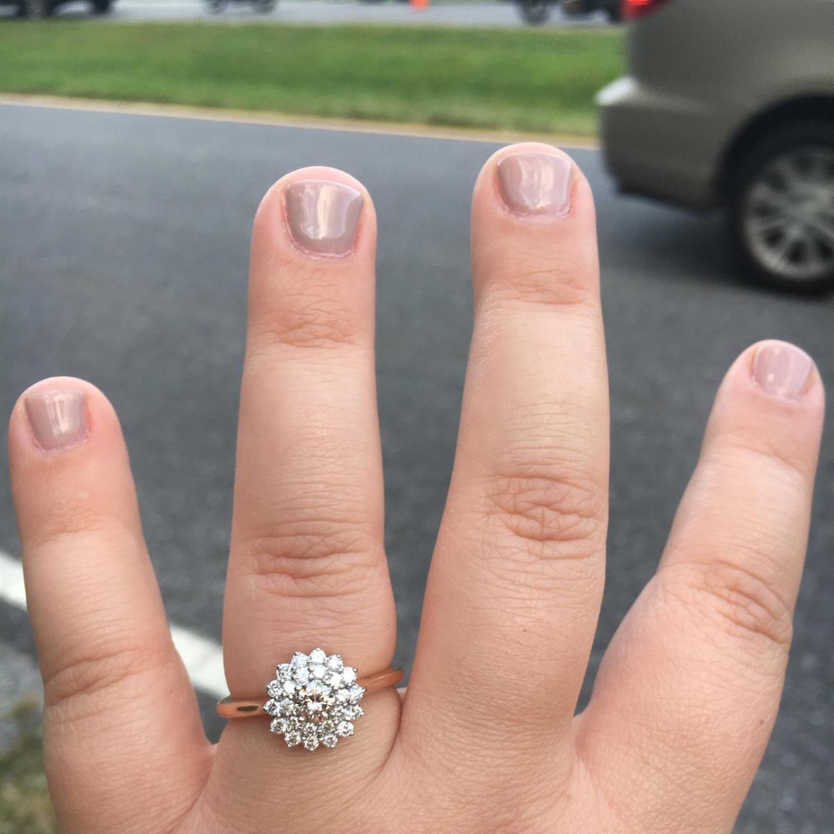 Ashley's Engagement Ring